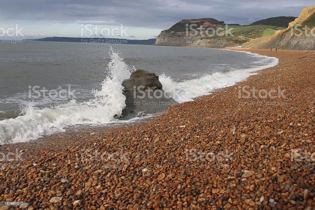 seatown beach stock photo