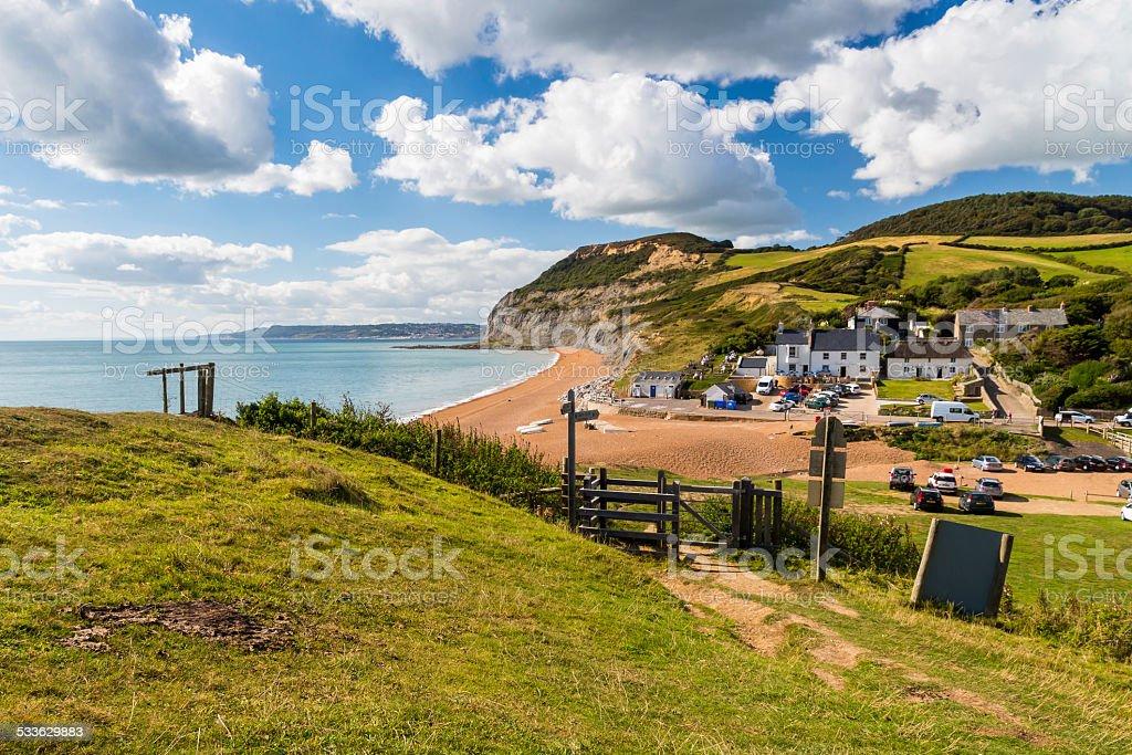 Seatown Dorset England UK stock photo