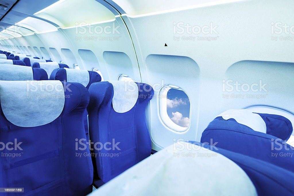 Seats And Folding Table royalty-free stock photo