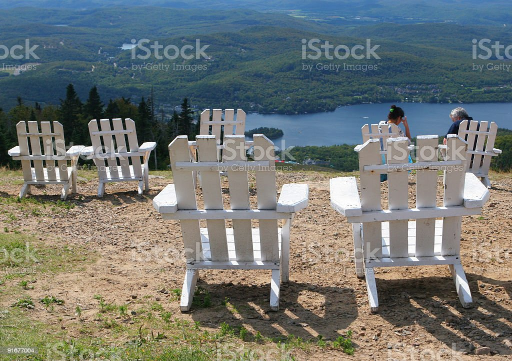 Seats at the Top royalty-free stock photo