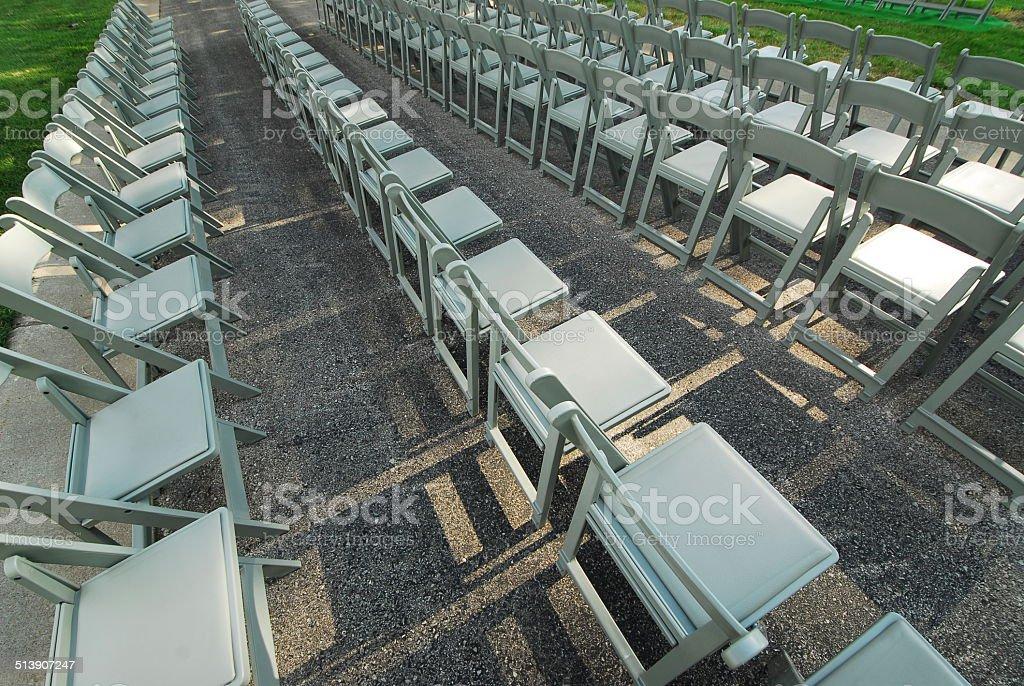 seats; chairs stock photo