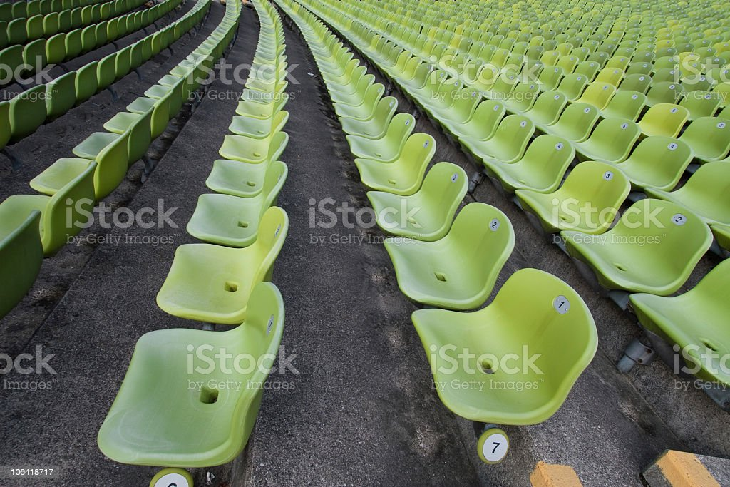 seats in a raw royalty-free stock photo