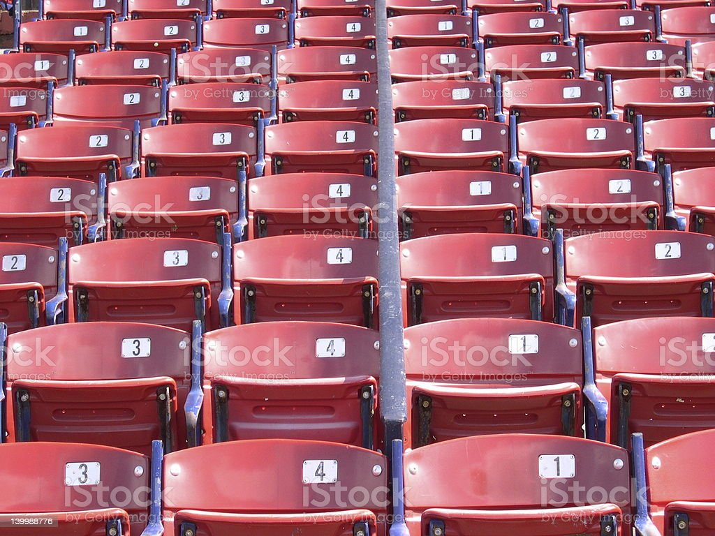 Seats. royalty-free stock photo