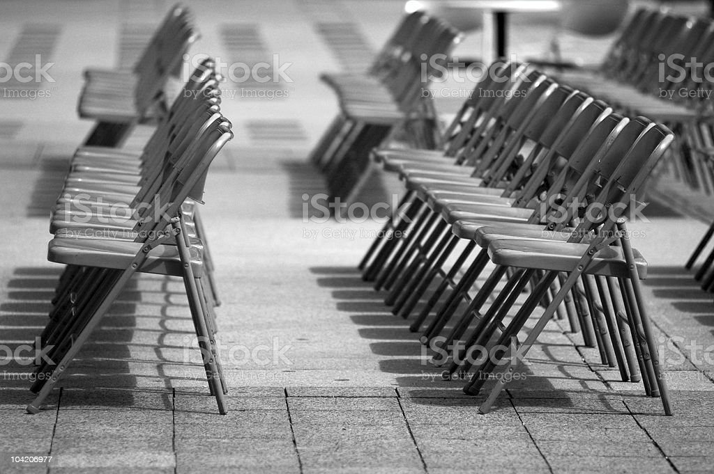 Seats to fill royalty-free stock photo