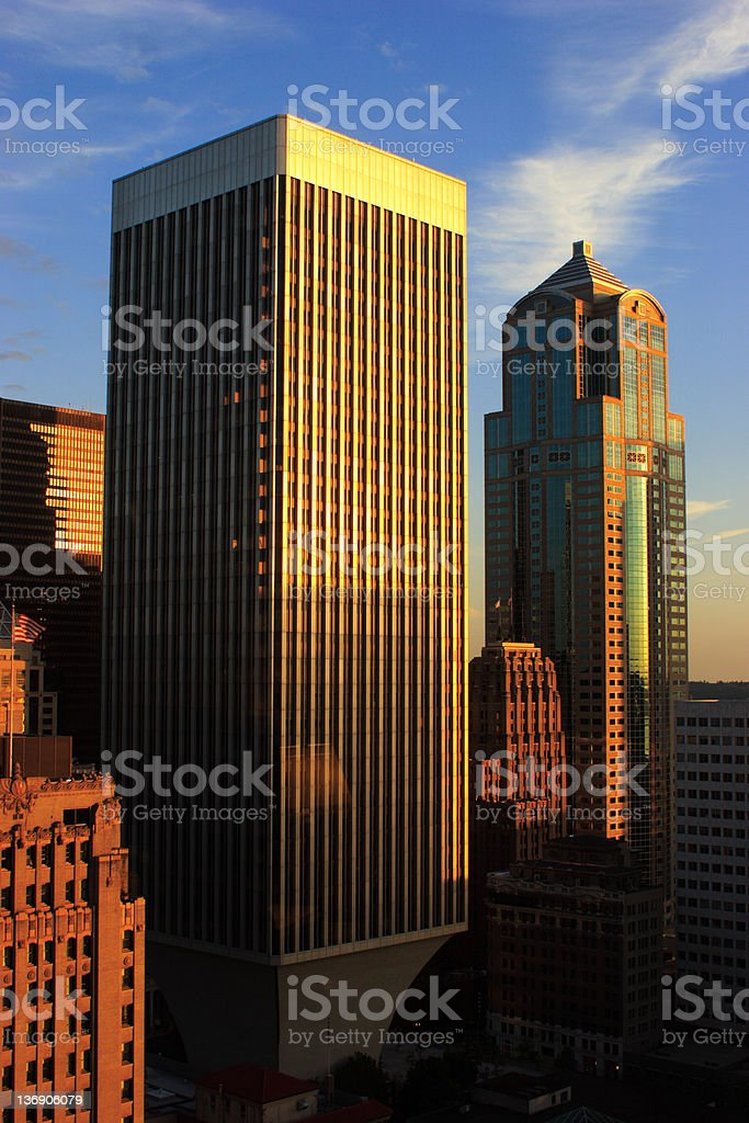 Seattle Afternoon stock photo
