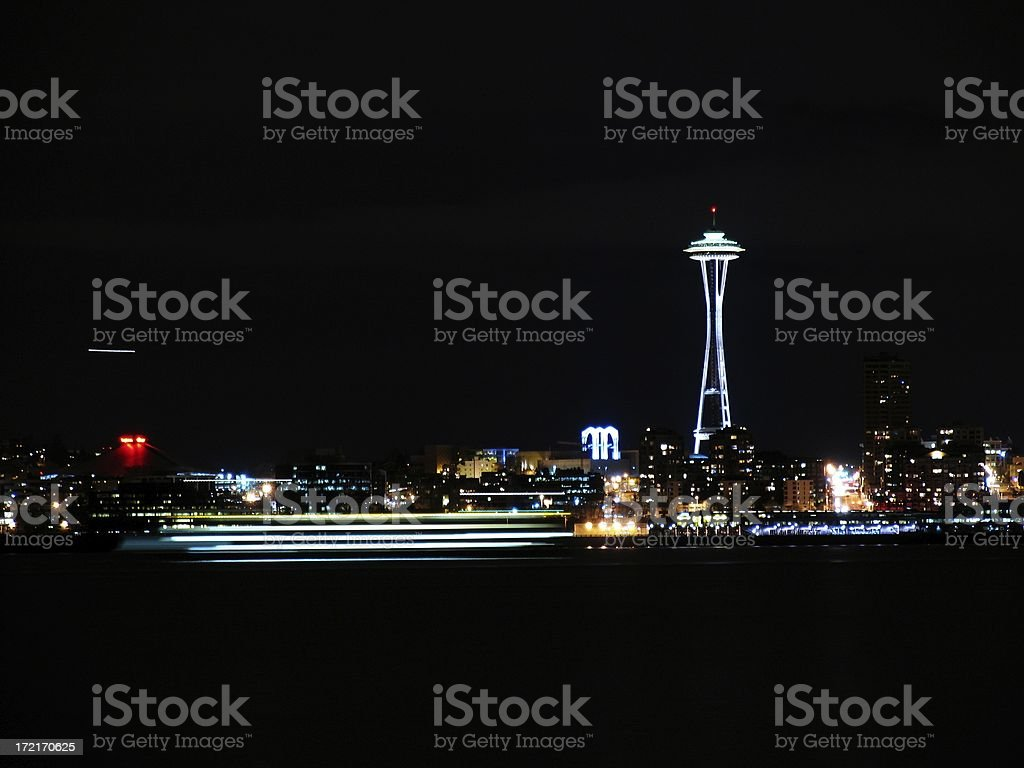 Seattle Center royalty-free stock photo