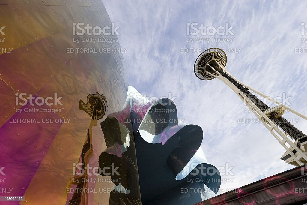 Seattle Center royalty-free stock photo