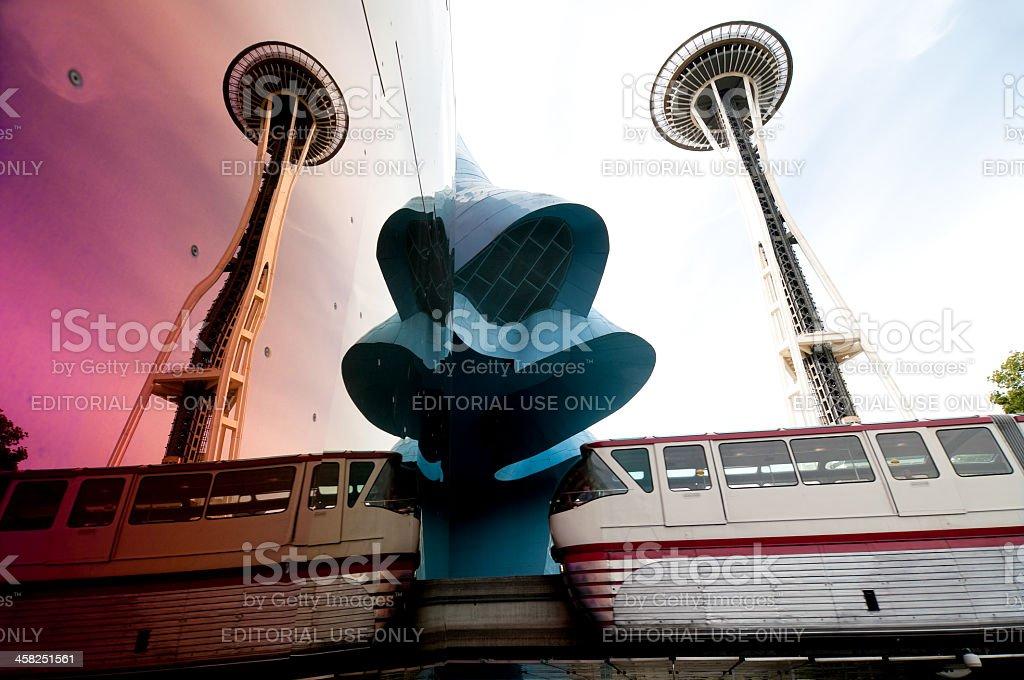 Seattle Center stock photo
