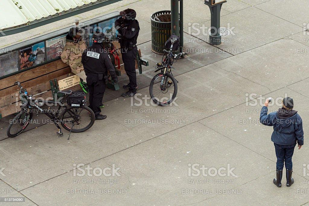 Seattle Crime stock photo