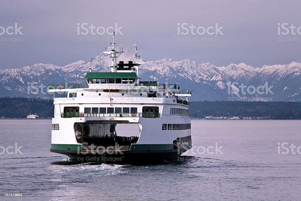 Seattle Ferry Travel stock photo