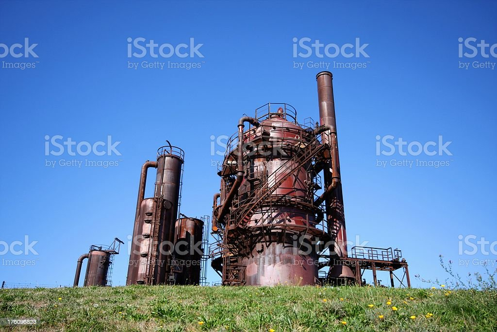 Seattle Gas Works stock photo