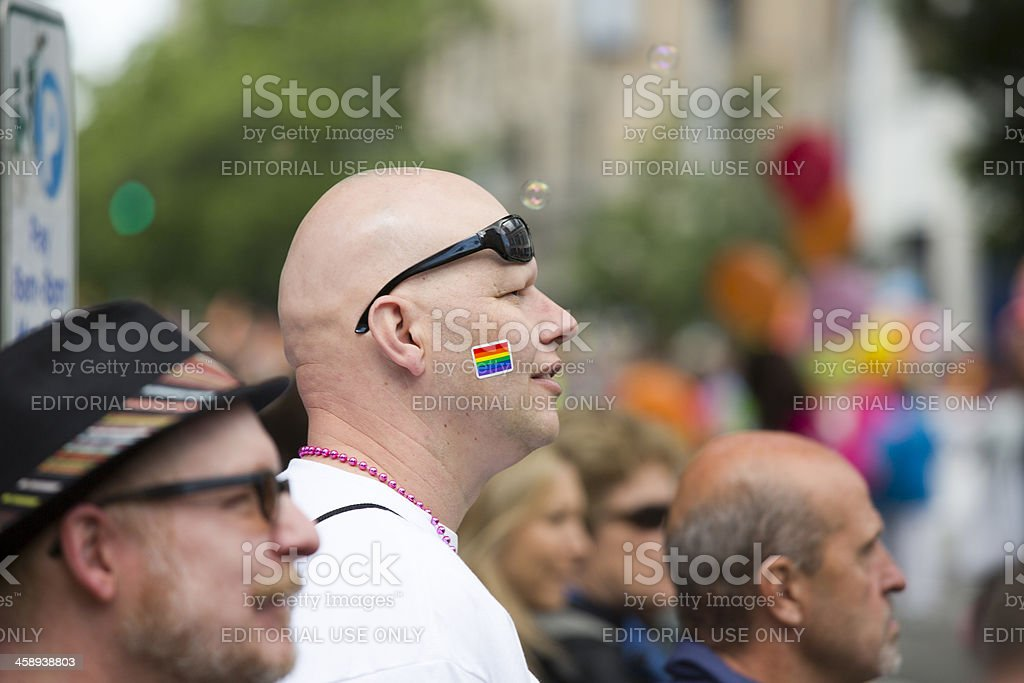 Seattle Gay Pride Street Parade and Festival royalty-free stock photo