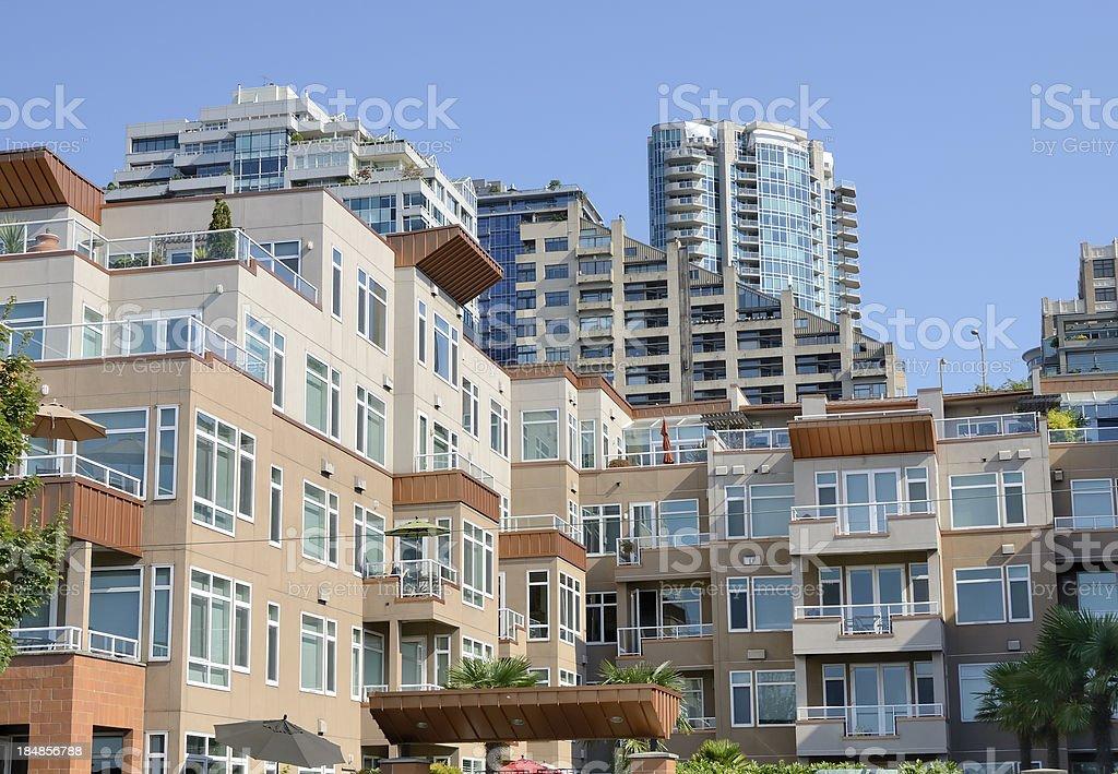 Seattle Living stock photo