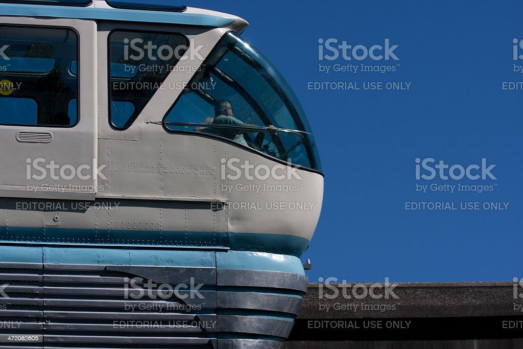 Seattle Monorail royalty-free stock photo