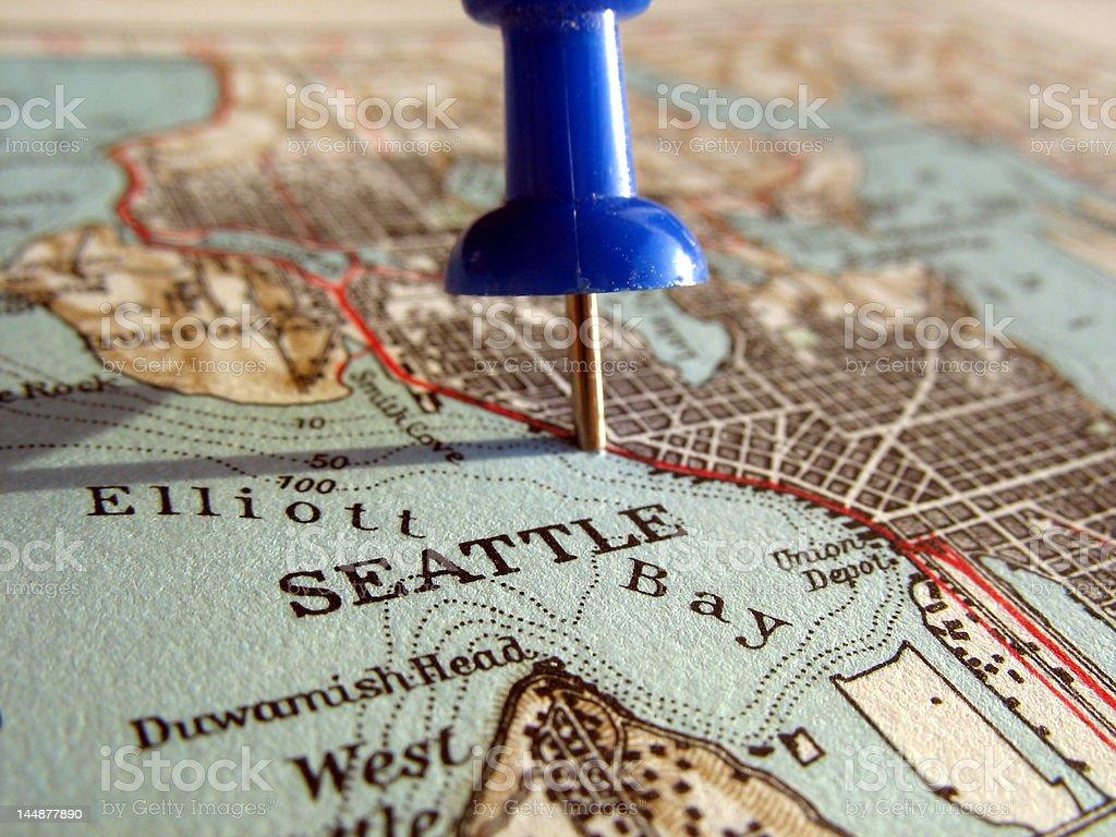 Seattle royalty-free stock photo
