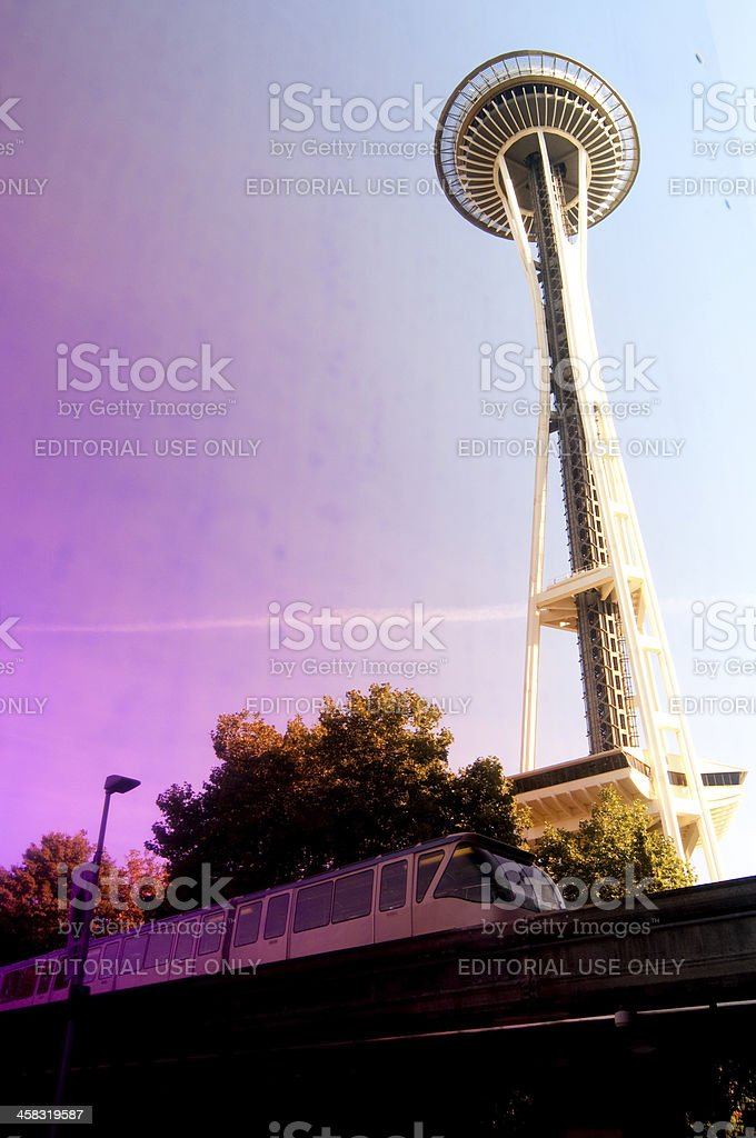 Seattle royalty-free stock photo