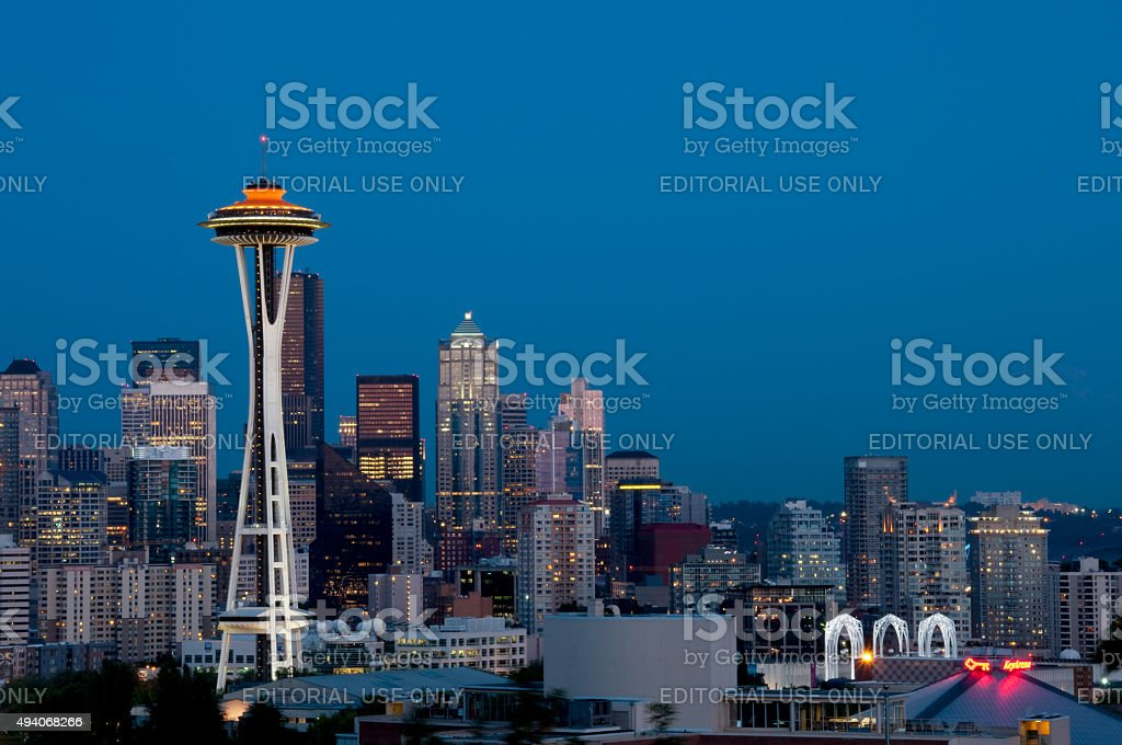Seattle stock photo
