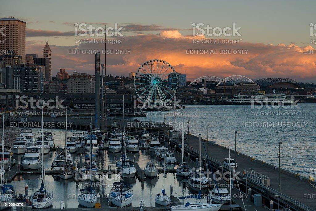 Seattle stock photo