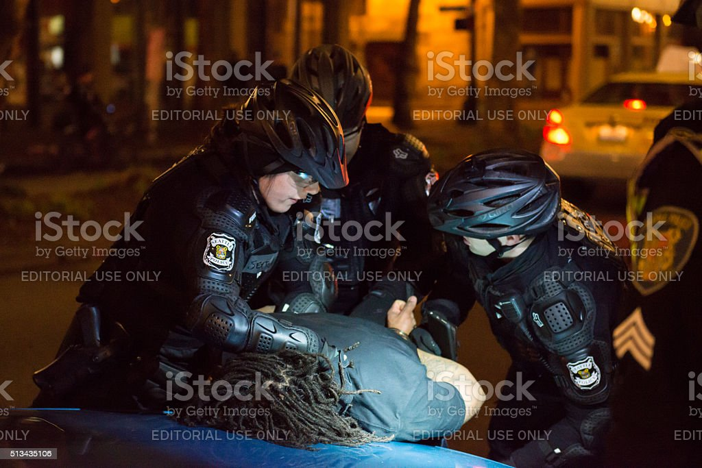 Seattle Police stock photo