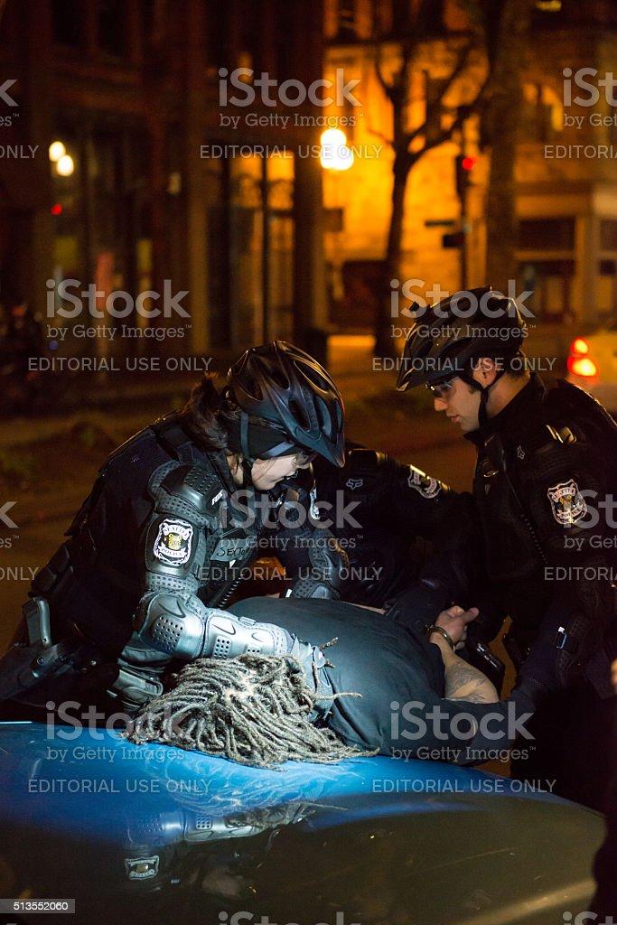 Seattle Police stock photo