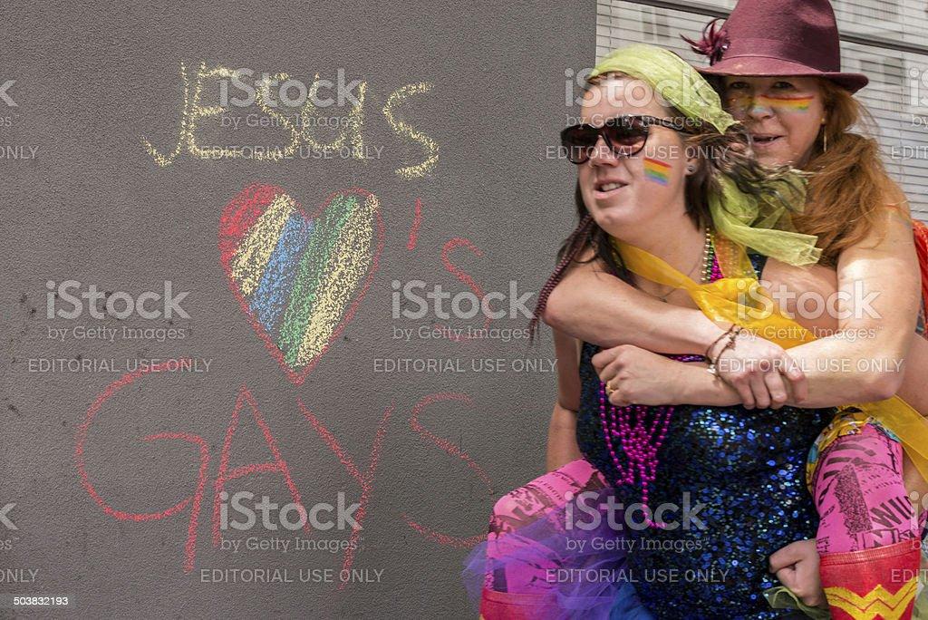Seattle Pride Festival stock photo