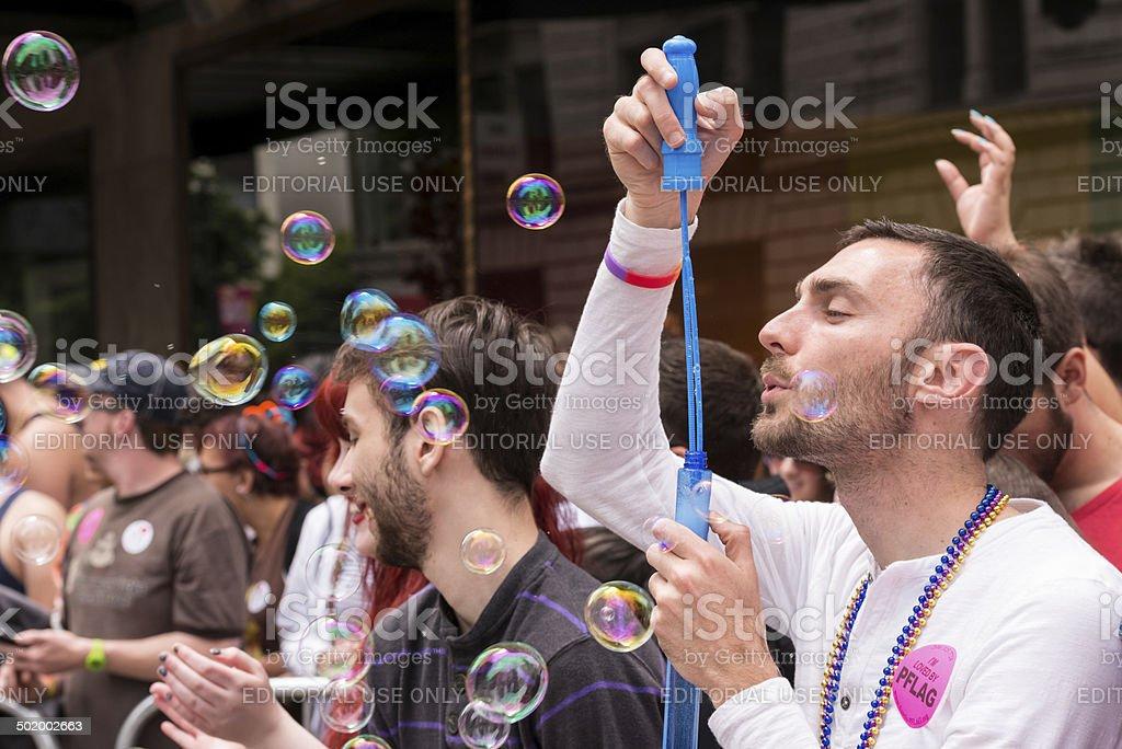 Seattle Pride Parade royalty-free stock photo