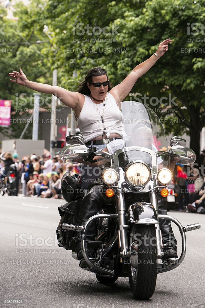Seattle Pride royalty-free stock photo