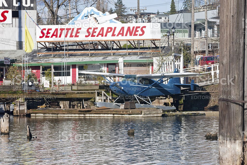 Seattle SeaPlanes royalty-free stock photo