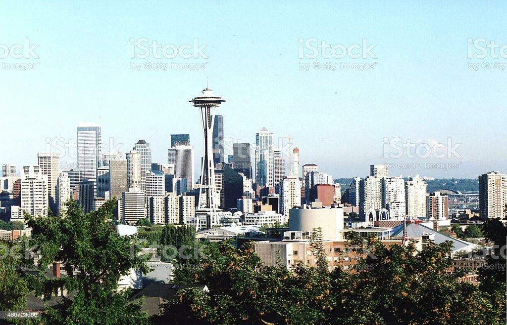 Seattle Sky Line stock photo
