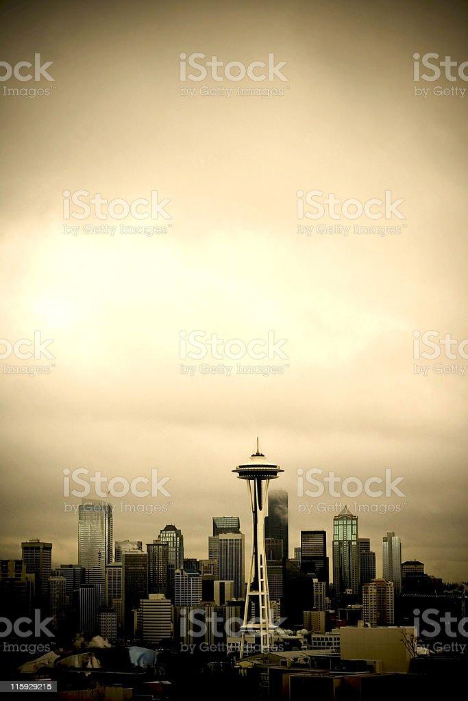 Seattle Skyline stock photo