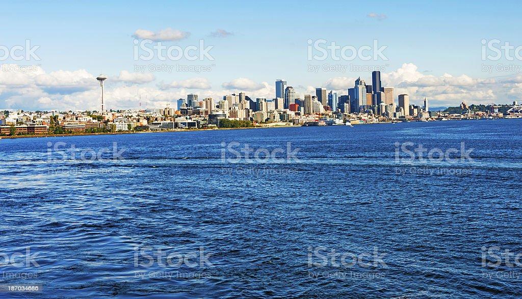 Seattle Skyline royalty-free stock photo