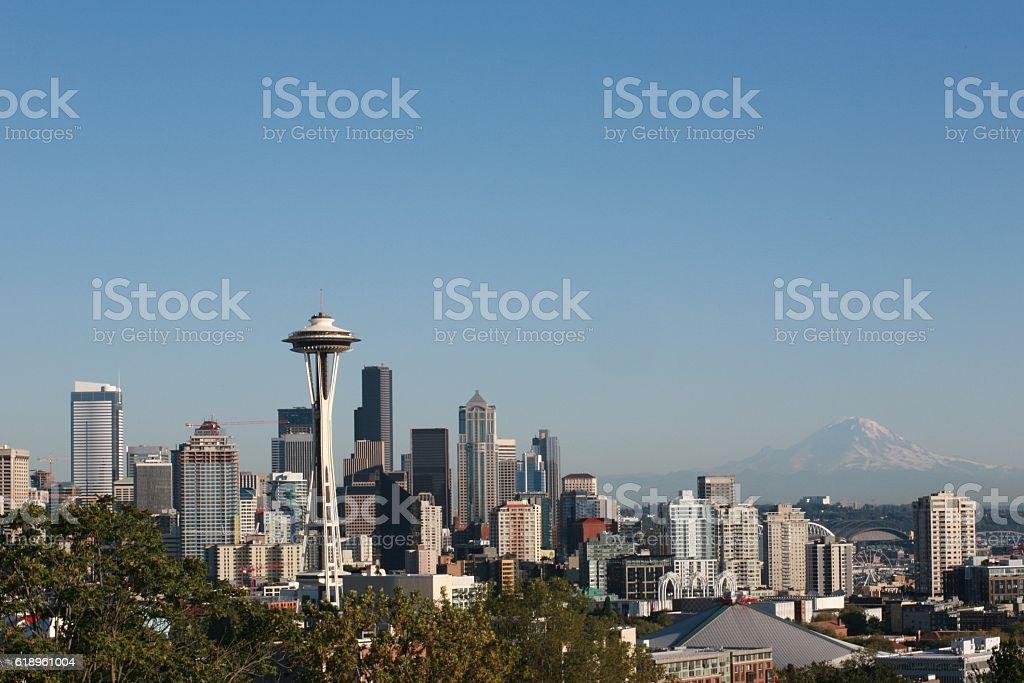 Seattle Skyline/Cityscape stock photo