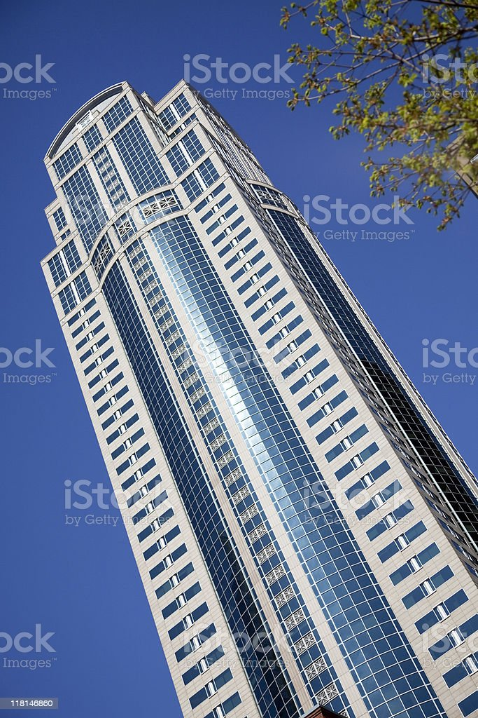 Seattle Skyscraper stock photo