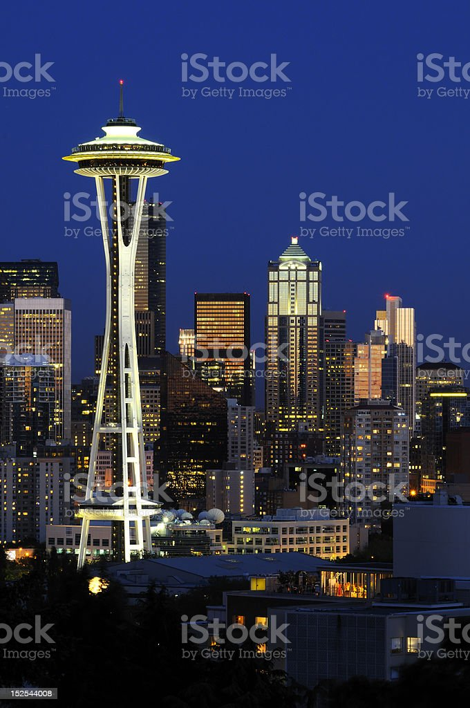 Seattle Space Needle royalty-free stock photo