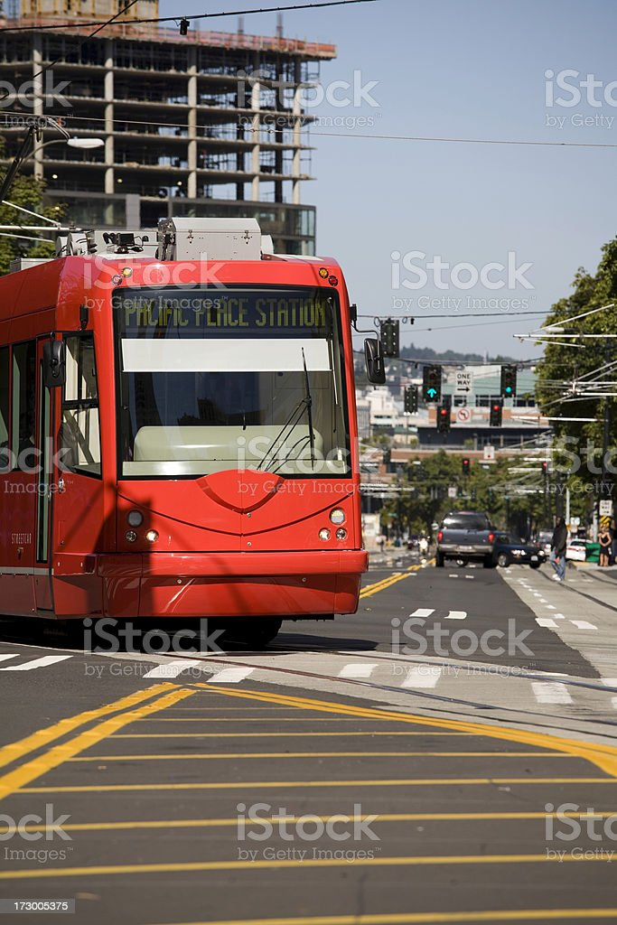 Seattle Street Scenes royalty-free stock photo
