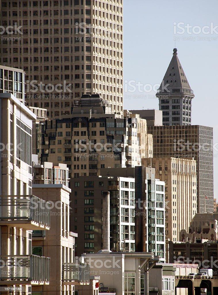 Seattle Urban Living 3 royalty-free stock photo