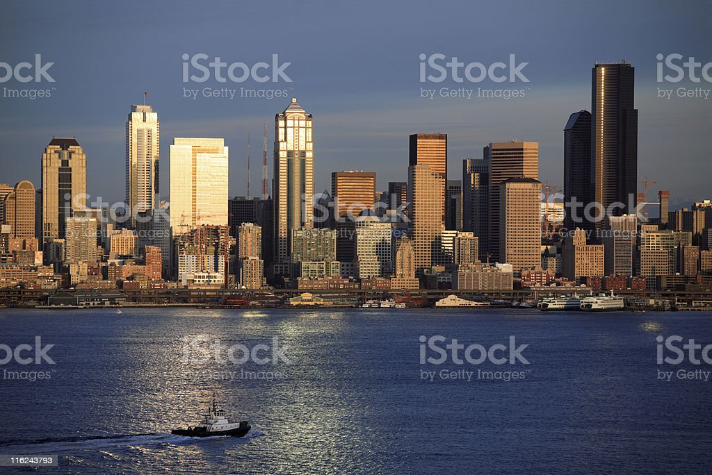 Seattle, WA royalty-free stock photo