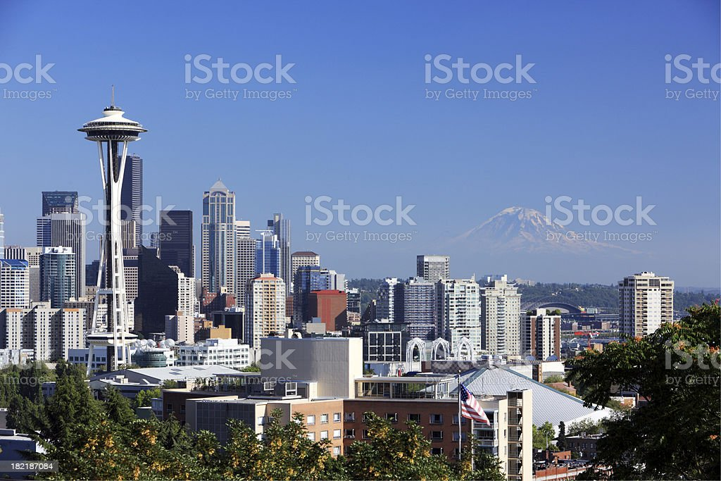 Seattle, WA royalty-free stock photo
