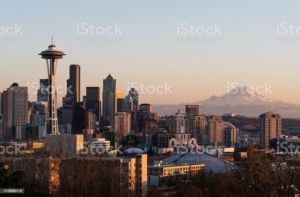Seattle, WA stock photo