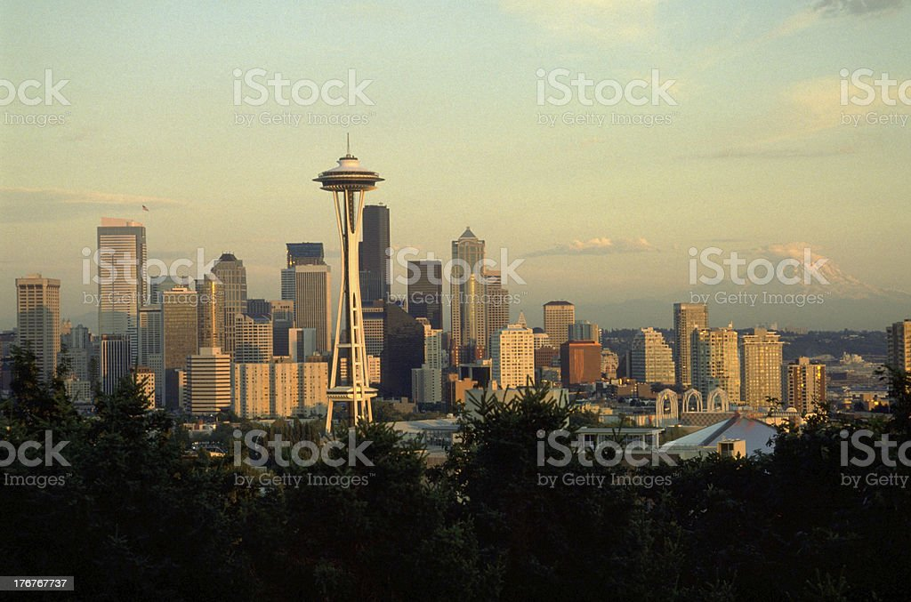 Seattle Washington royalty-free stock photo