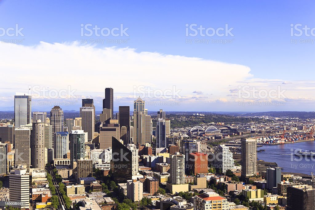 Seattle, Washington royalty-free stock photo