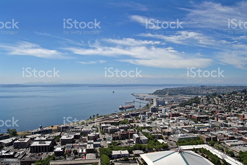 Seattle Water Front stock photo