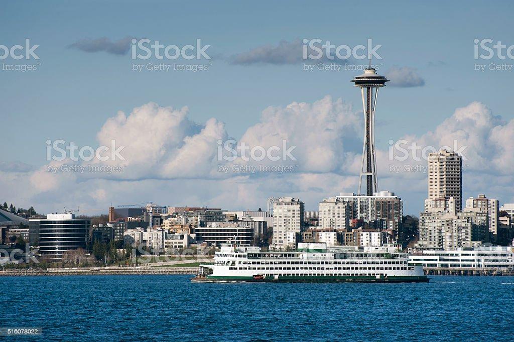 Seattle Waterfront stock photo