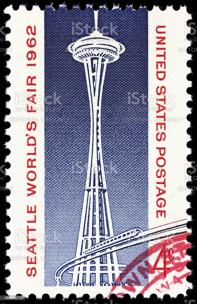Seattle World's Fair 1962 royalty-free stock photo