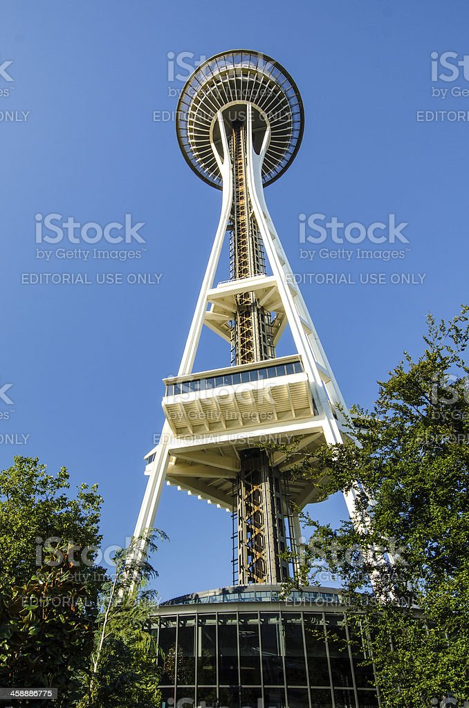 Seattle's Space Needle royalty-free stock photo