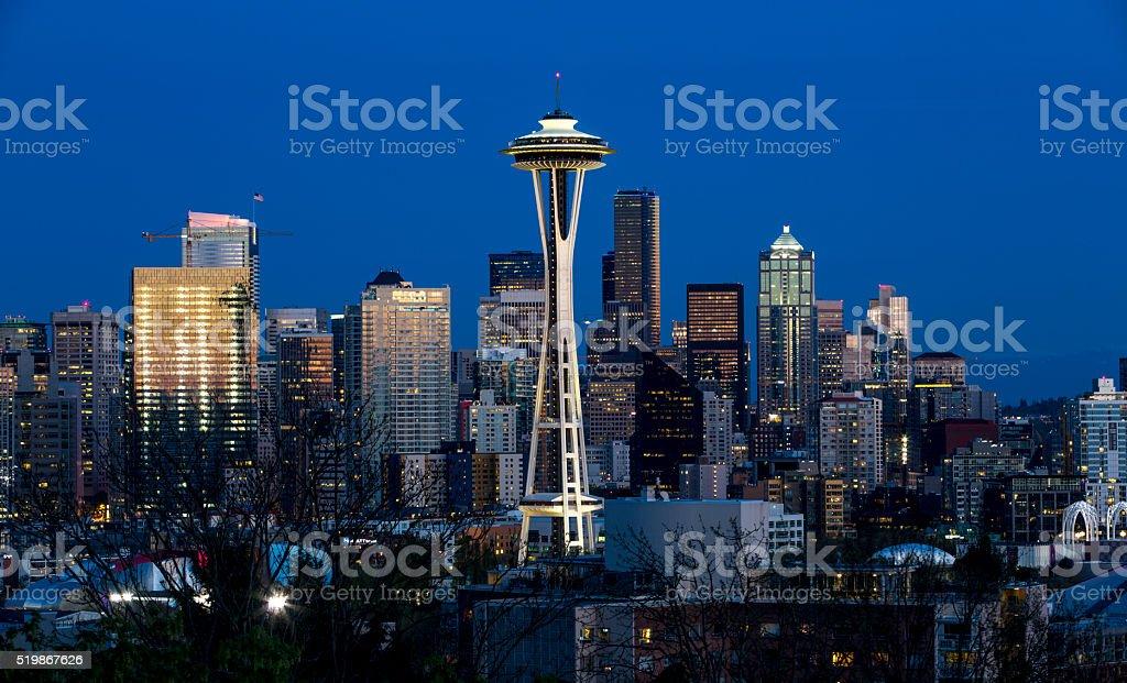 Seattle's Space Needle stock photo