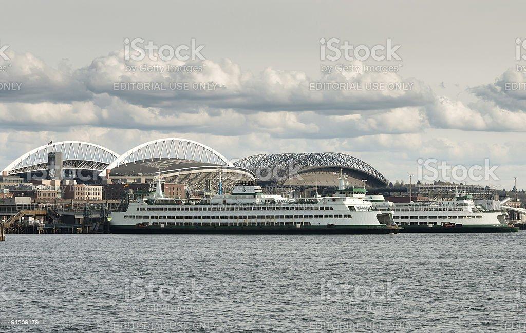 Seattle's Waterfront stock photo