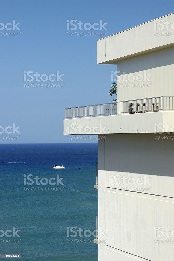 seaview apartment 1 royalty-free stock photo