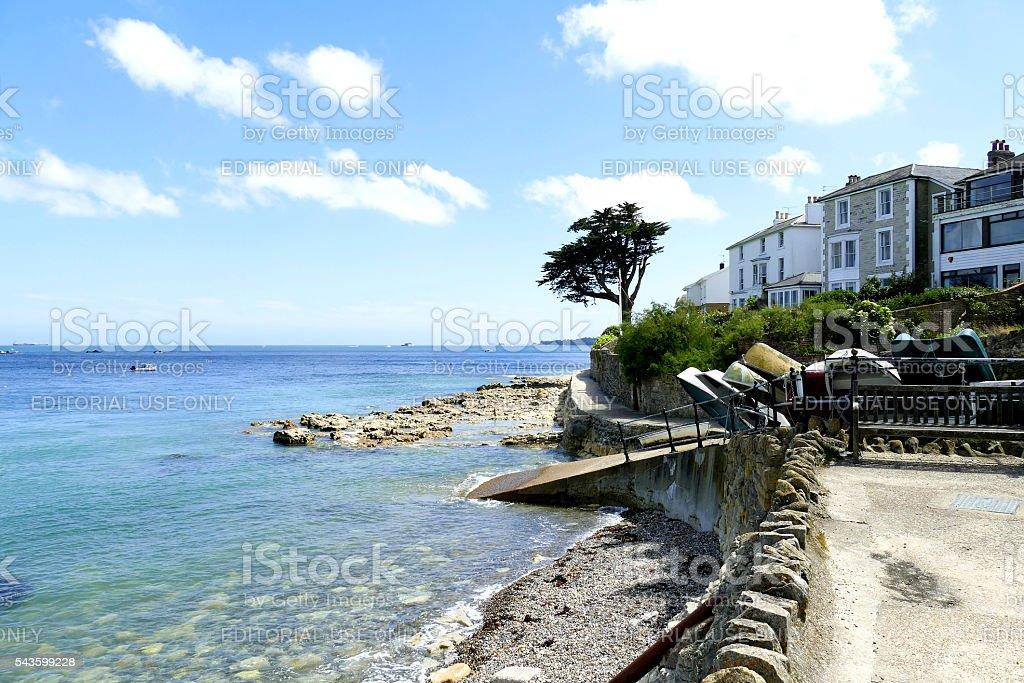Seaview, Isle of Wight. stock photo