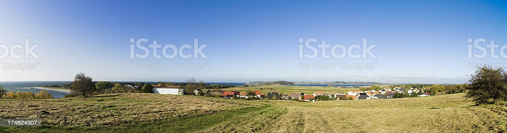 Seaview Panorama stock photo